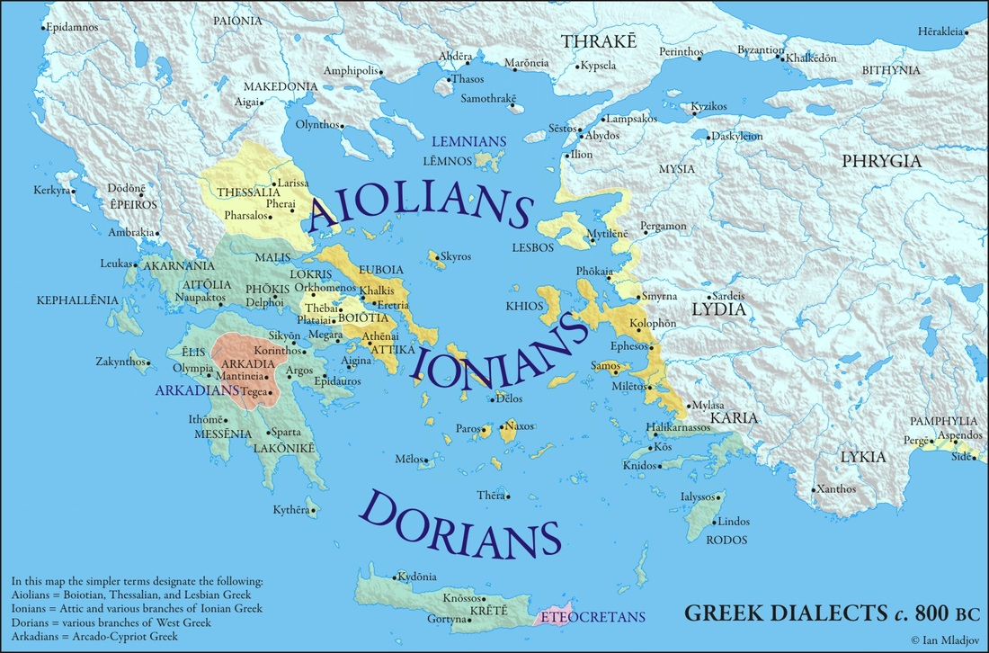 Maps of greece macedonian history greek dialects 800 bc gumiabroncs